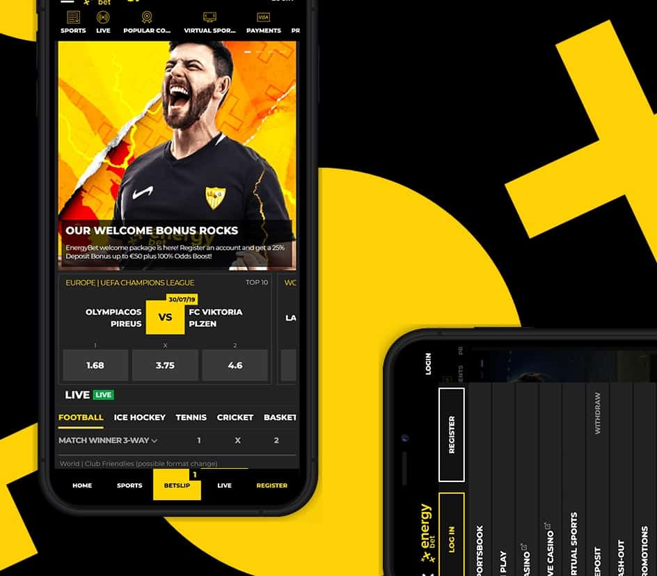 EnergyBet Android app